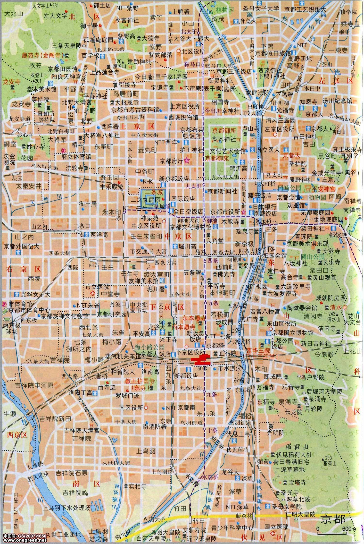 哈萨克斯坦中文地图_京都地图_日本地图库_地图窝
