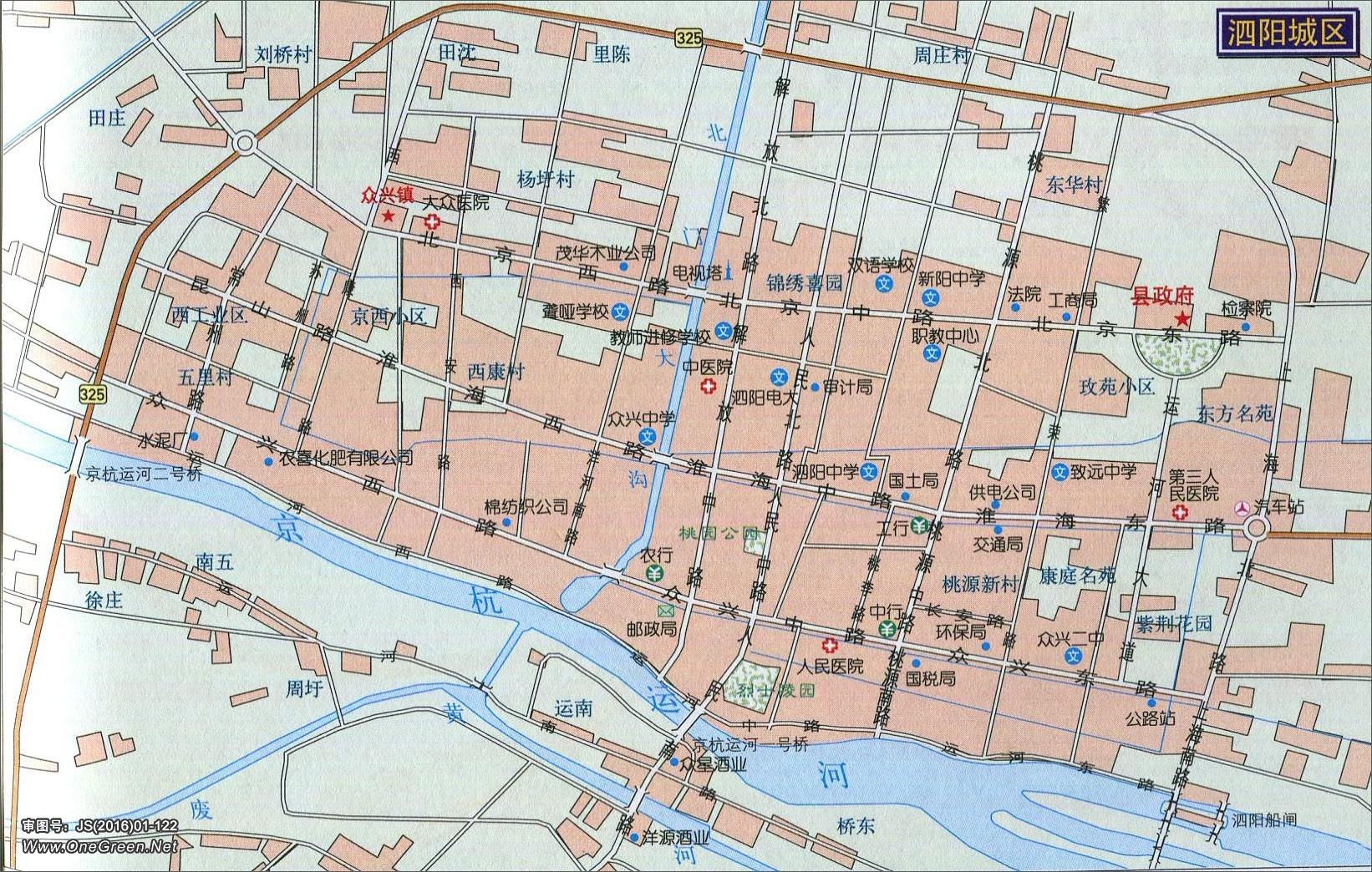 淮安青岛路地图