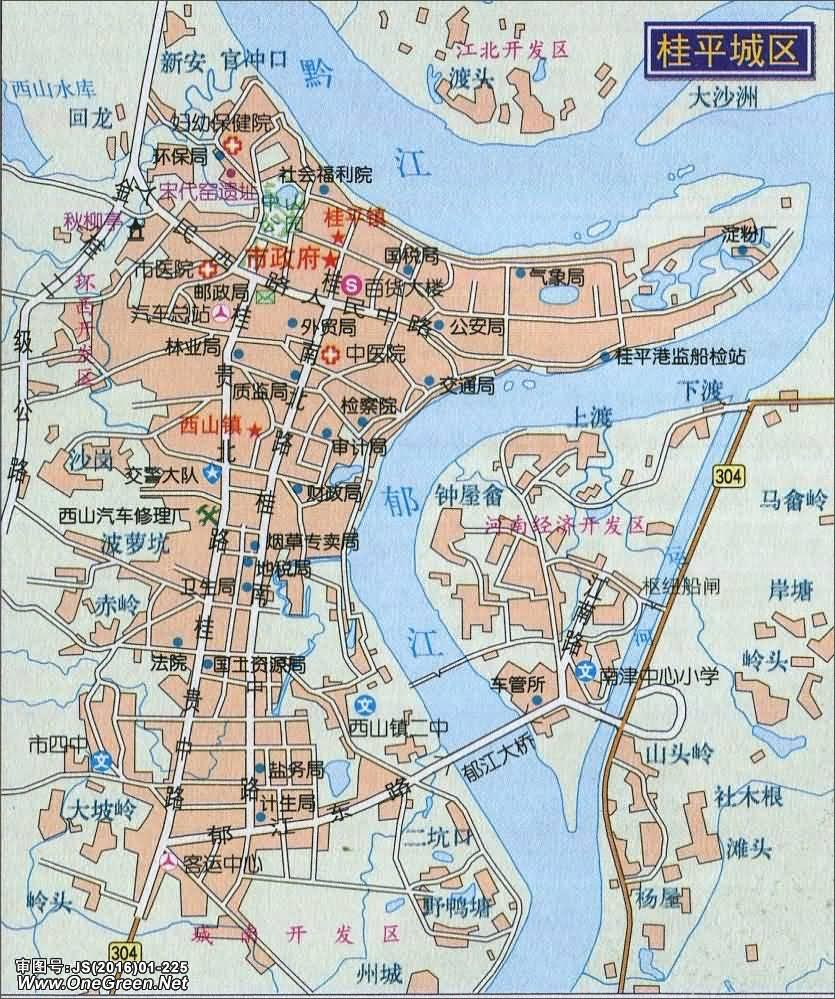 搜狗地图-贵港电子地图