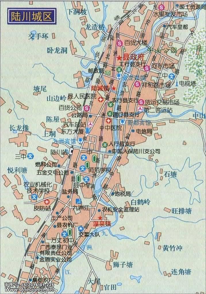 广西防城港旅游地图_陆川城区地图_玉林地图库_地图窝