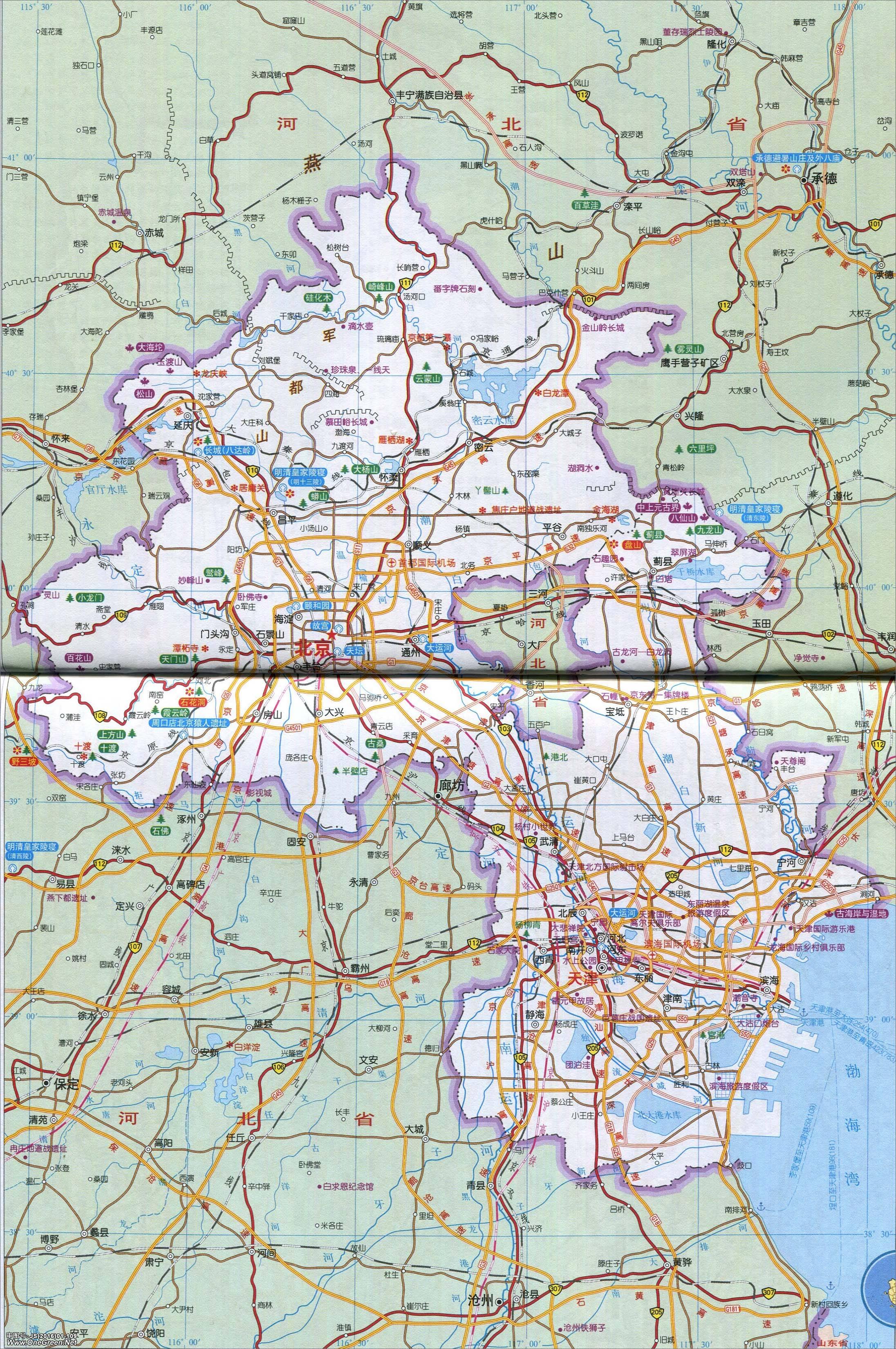 浙江旅游地图_京津地区地图_天津地图库_地图窝