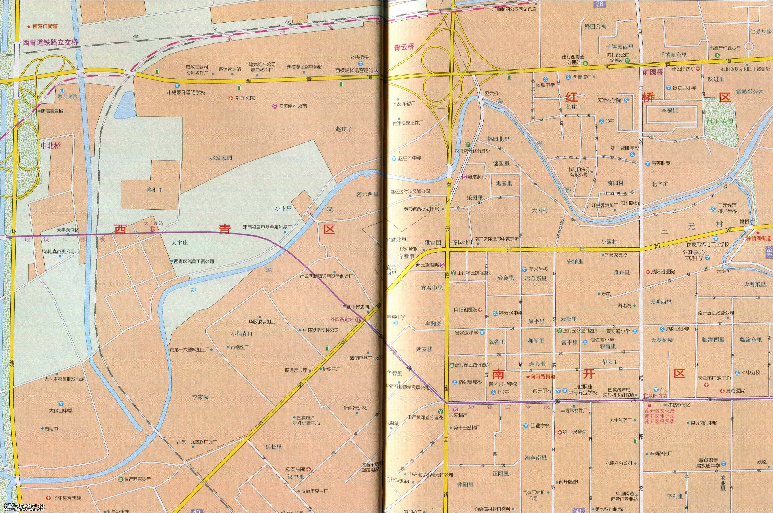 向阳路街道地图