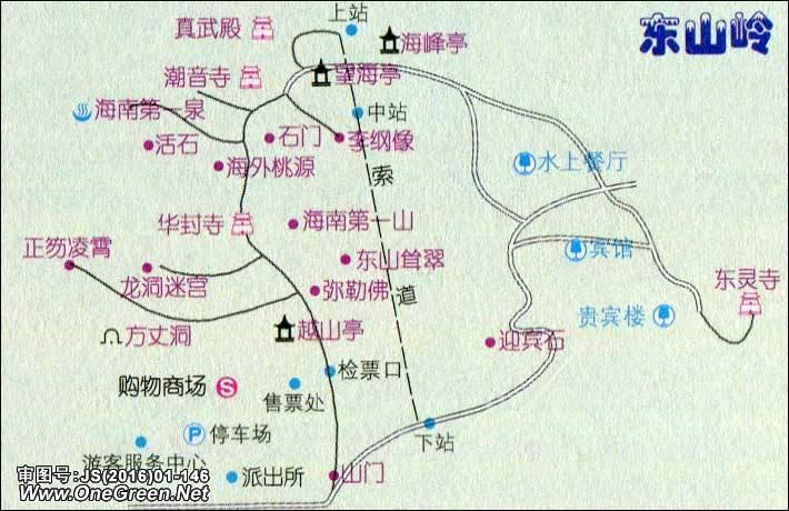 地图窝 >> 地图库 >> 中国地图 >> 海南 >> 海南其他 >> 万宁市_东山岭地图