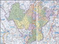 凉山彝族自治州地图高清版图片