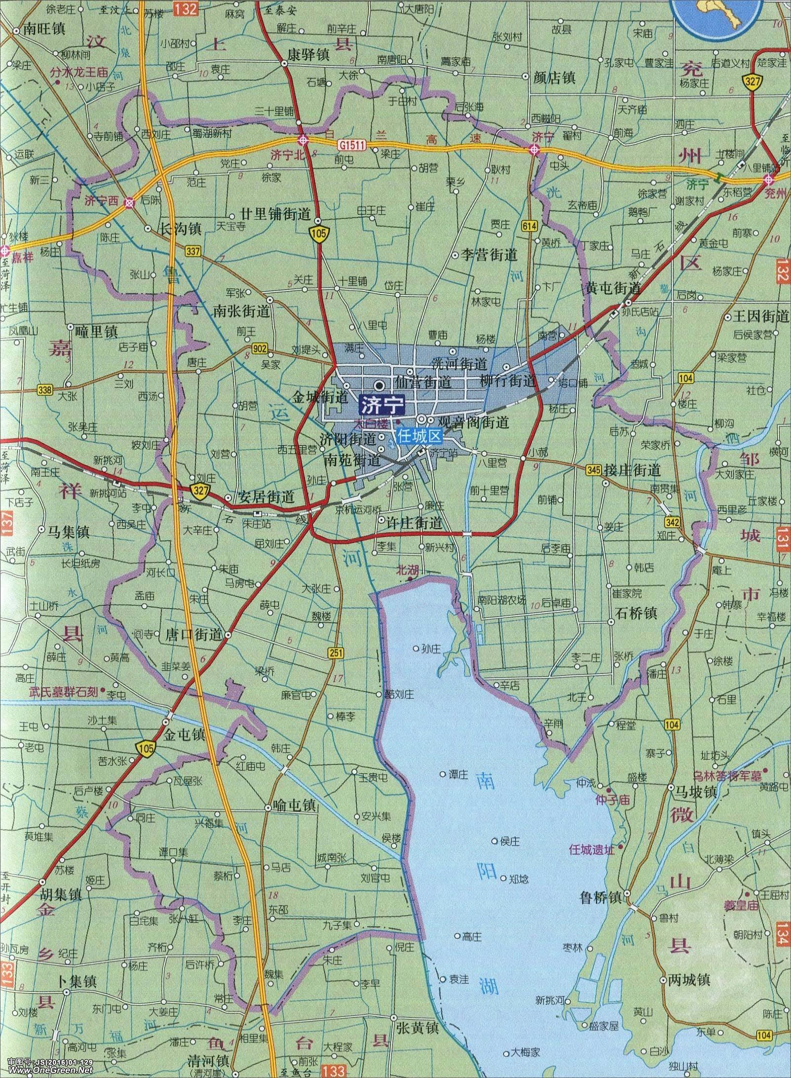 美国德州地图全图