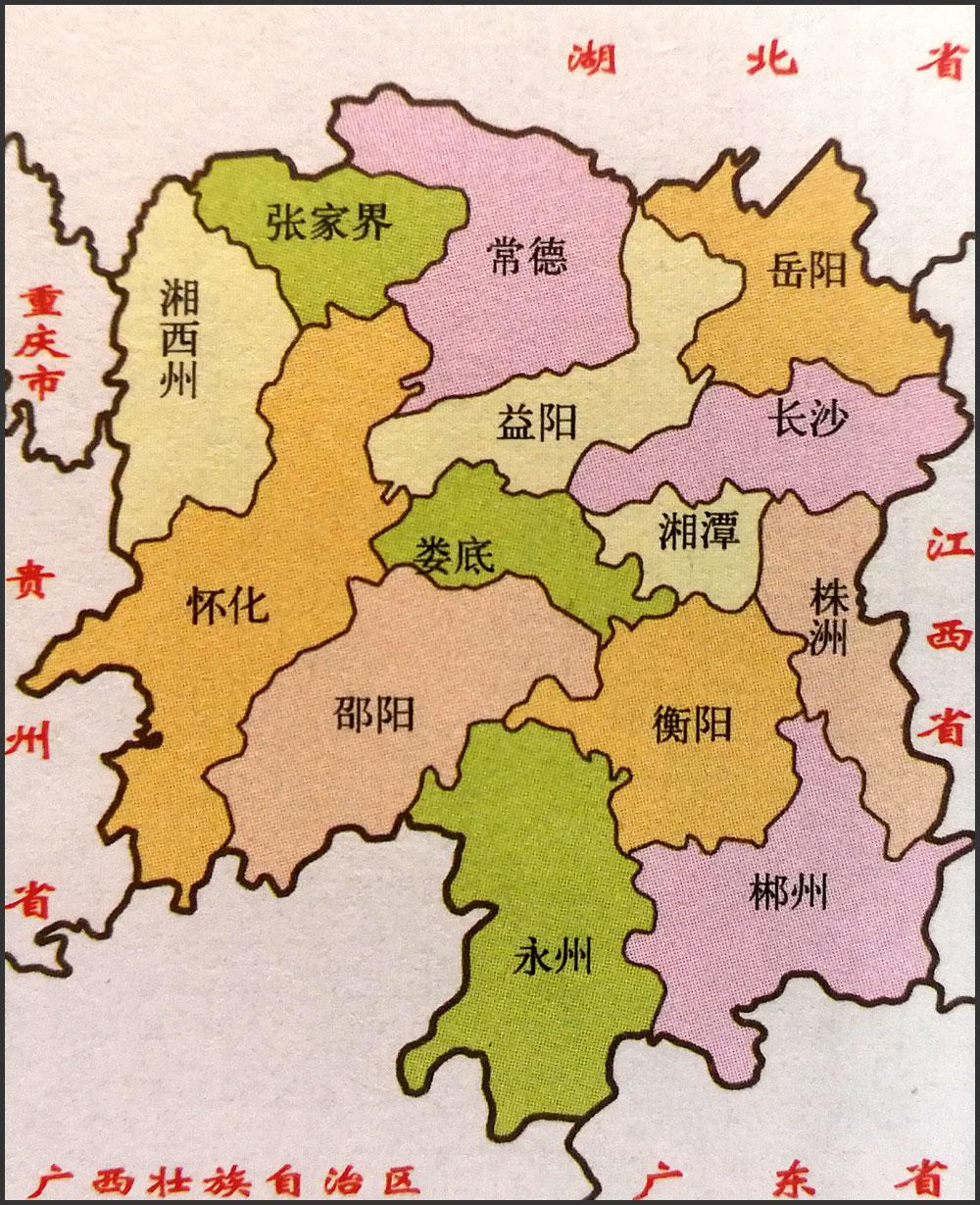贵州省政区图_湖南地图简图_湖南地图库_地图窝