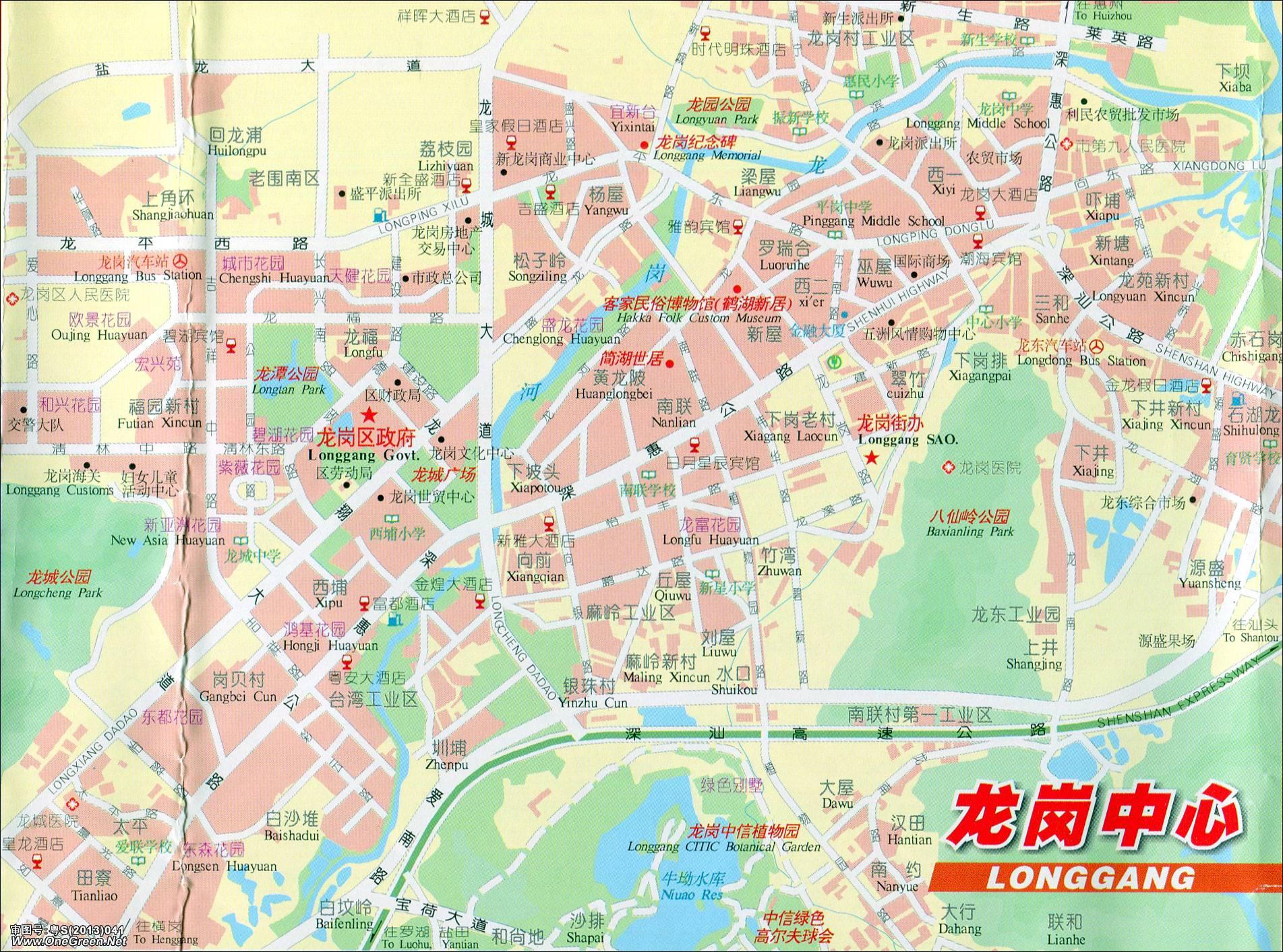 深圳市三维地图_深圳龙岗区三维地图- _汇潮装饰网