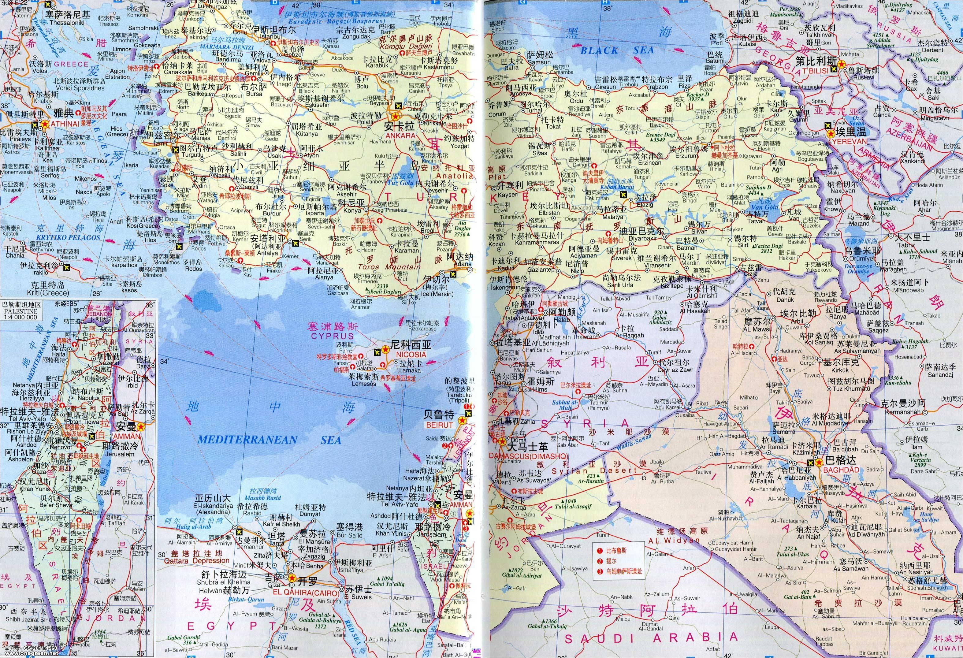 越南 地图 中越 文 版