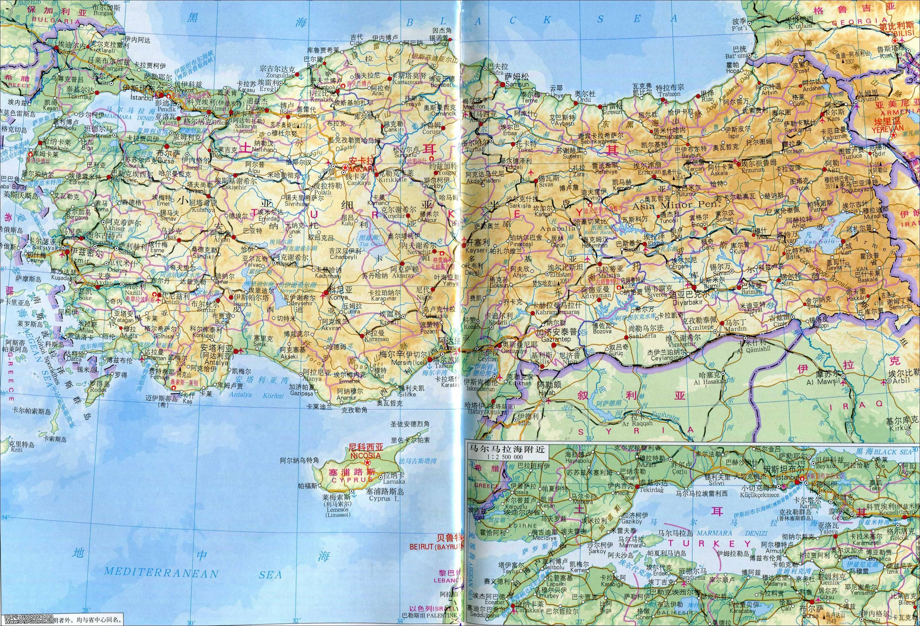 世界地图中国巴基斯坦