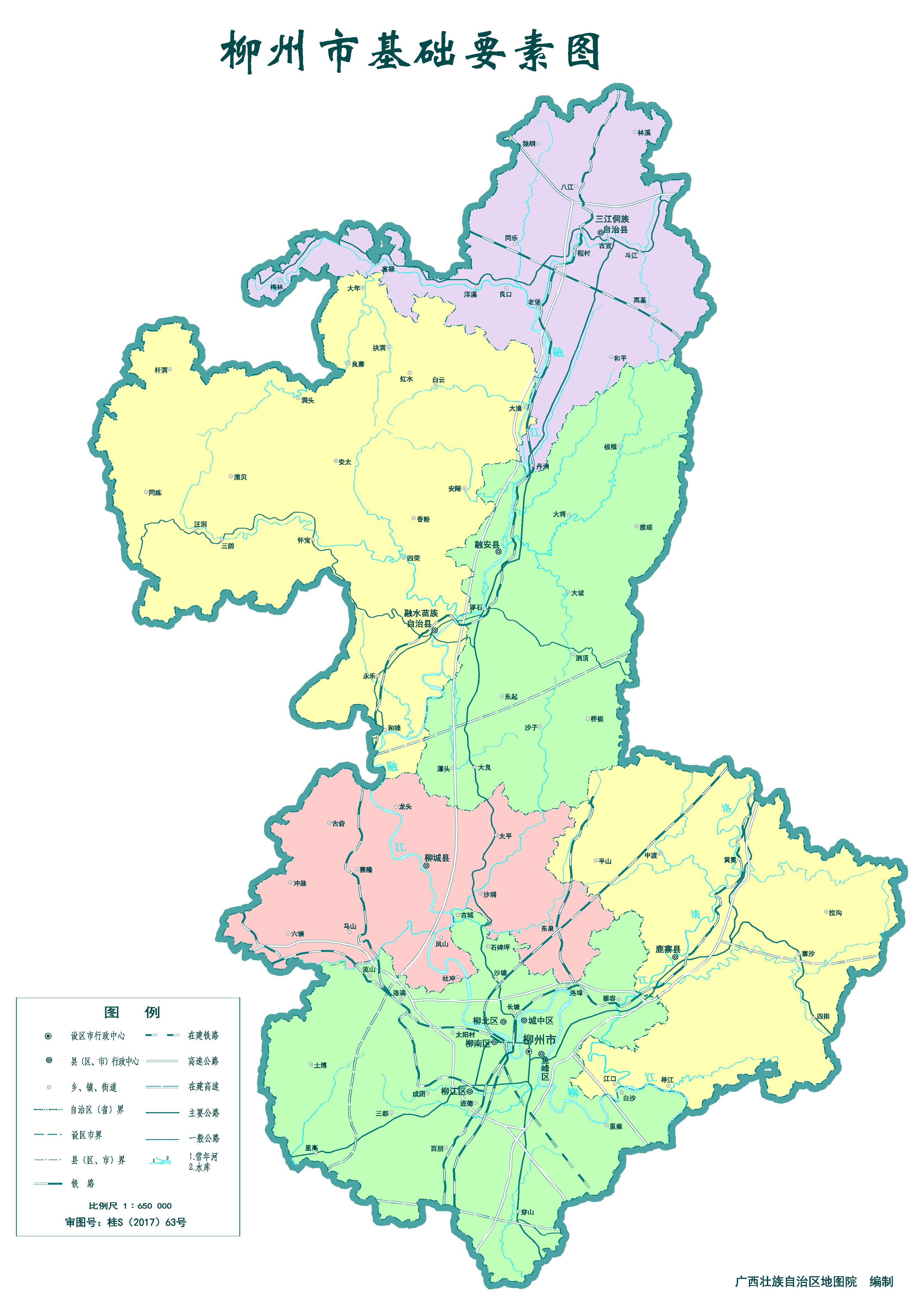 广西防城港旅游地图_柳州市标准地图(要素版)_柳州地图库_地图窝