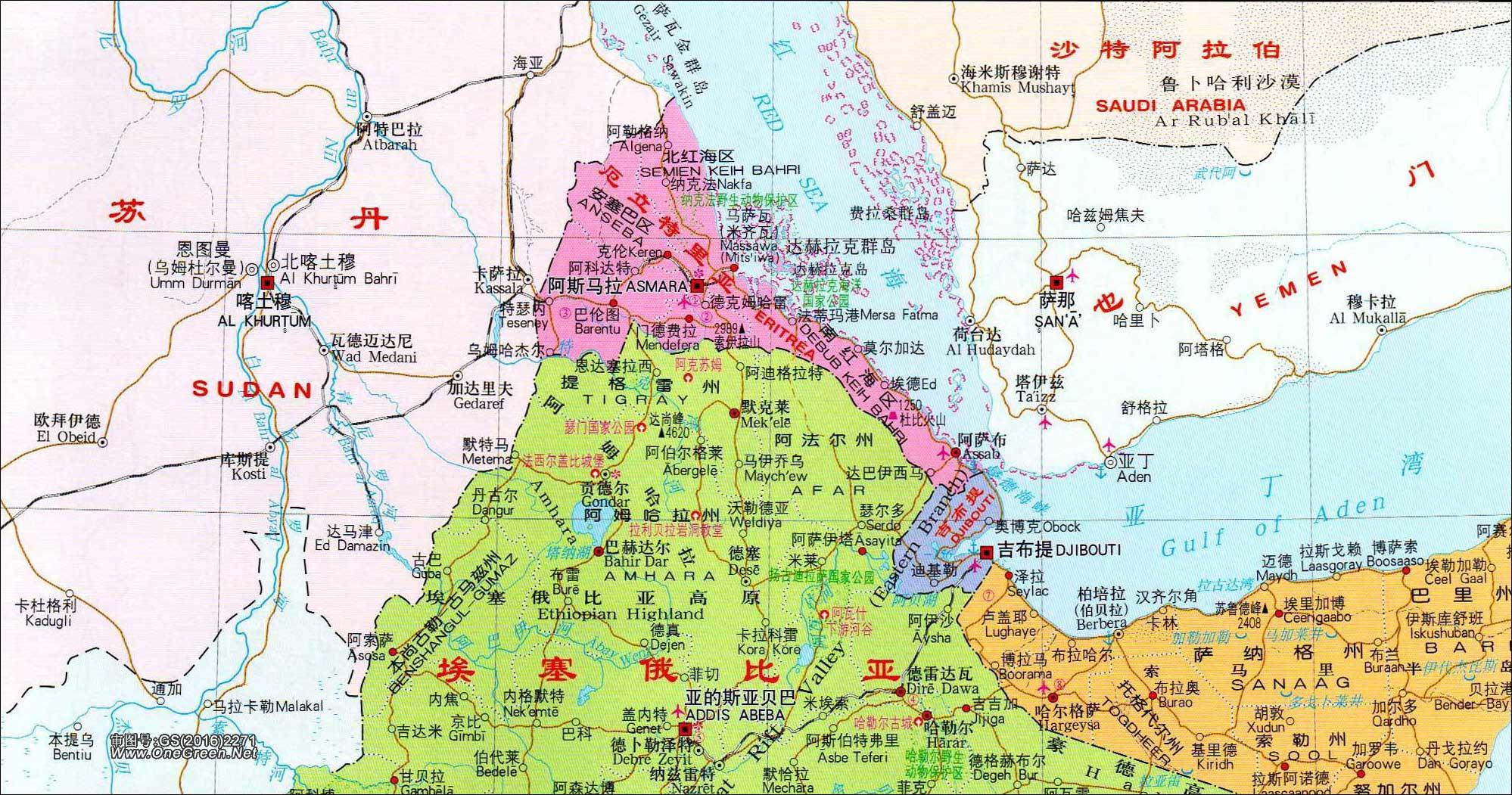 博茨瓦纳地图_厄立特里亚地图_地图窝