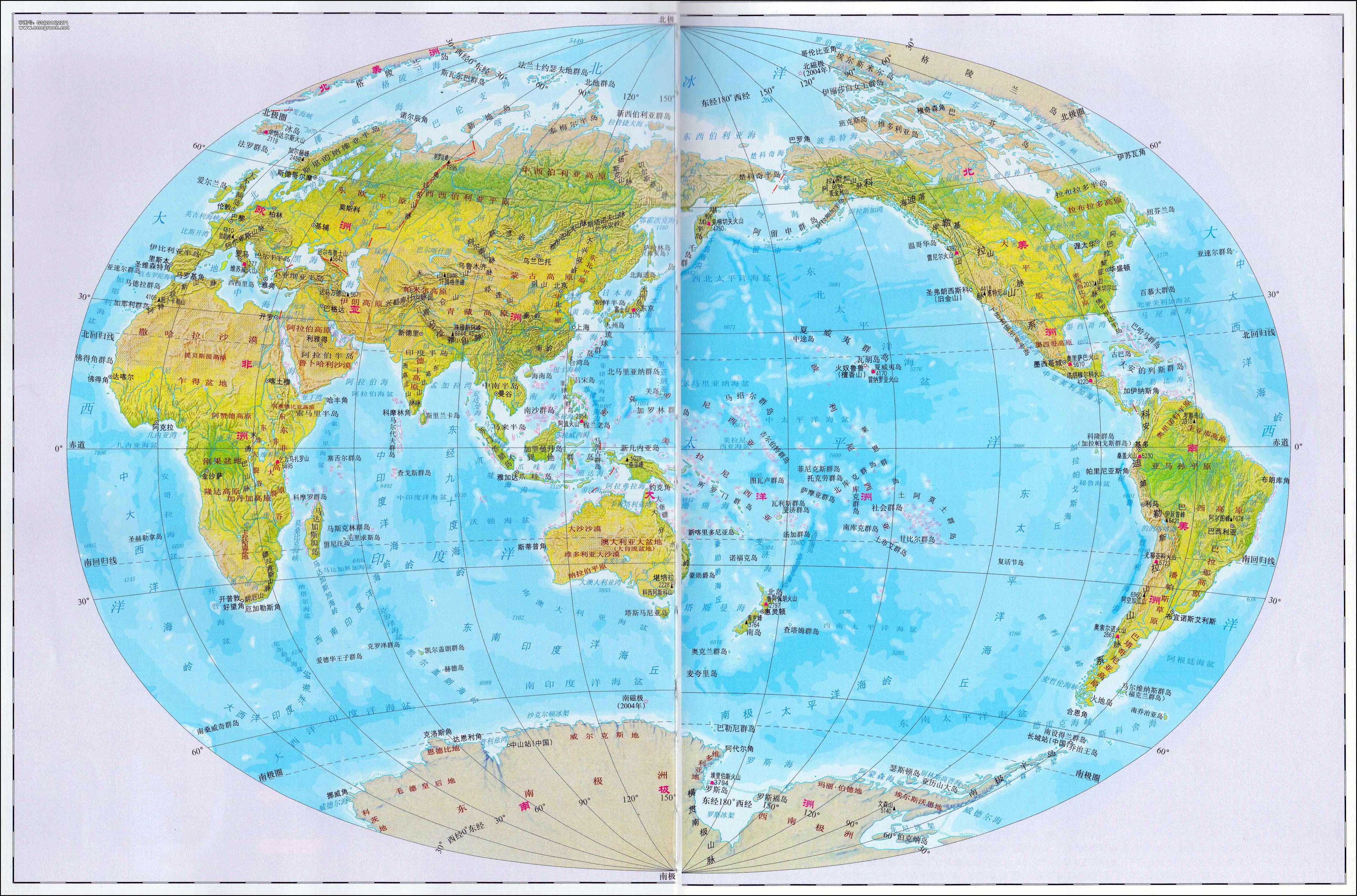 各种功能世界地图(你未必都见过) - 理睬 - .