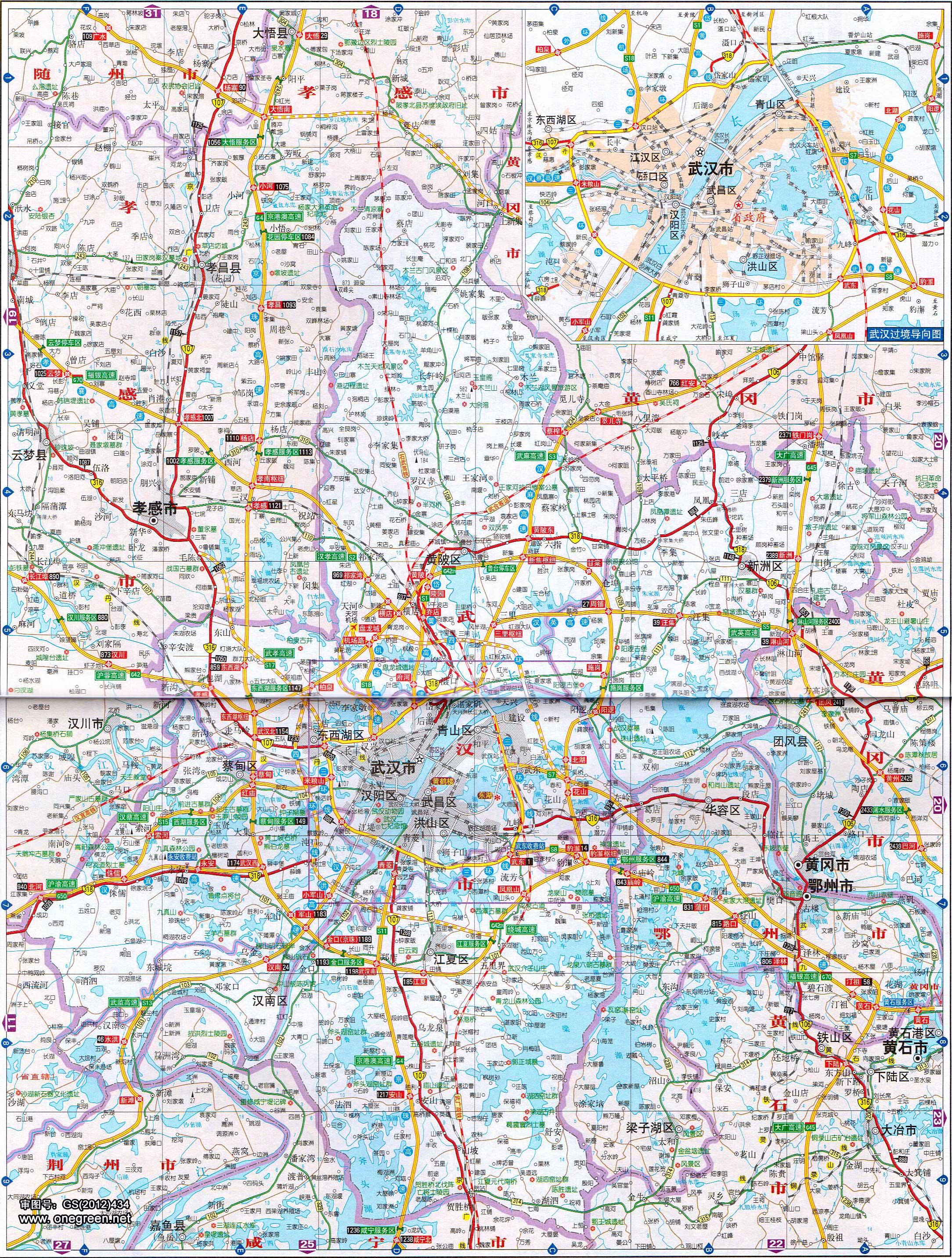 内蒙古地图全图大图_武汉地图_武汉市区地图全图高清版_地图窝