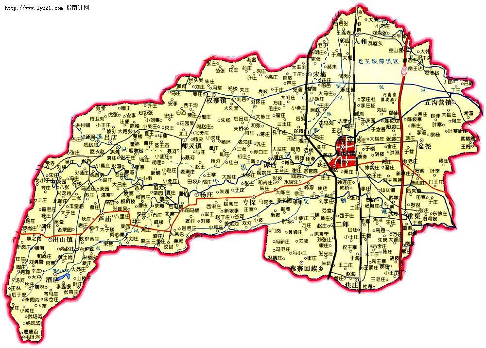 西平县新建公路规划图