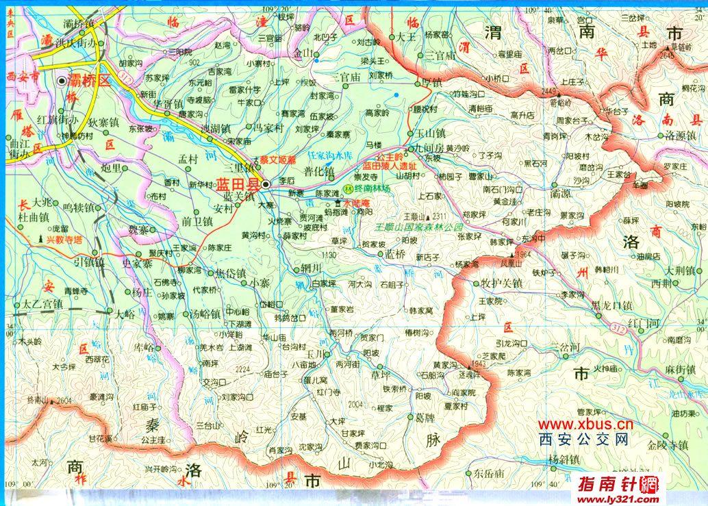 西安市旅游景点地图_西安市周边旅游景点_西安市旅游景点大全_西安市旅游景点地图